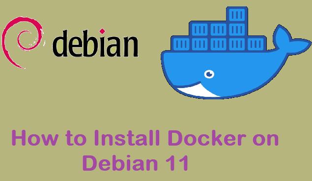 Install-Docker-Debian11